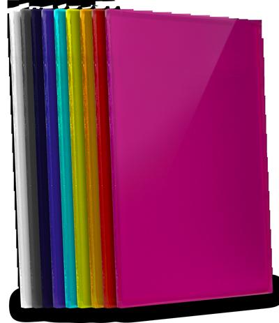 kolorowe szkło